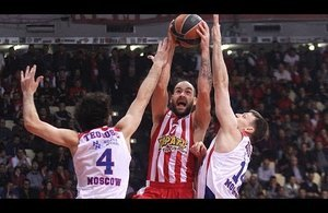Highlights: Olympiacos Piraues-CSKA Moscow