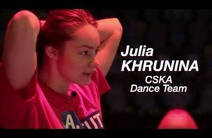 Inside the Game — Julia Khrunina (CSKA Dance Team)