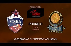 Highlights: CSKA Moscow-Khimki Moscow region