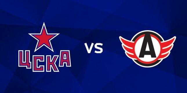 ЦСКА — Автомобилист 17 января, хоккейный матч