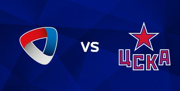Северсталь — ЦСКА 2 февраля, хоккейный матч
